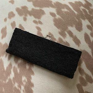 Vintage seed bead petite purse or clutch.